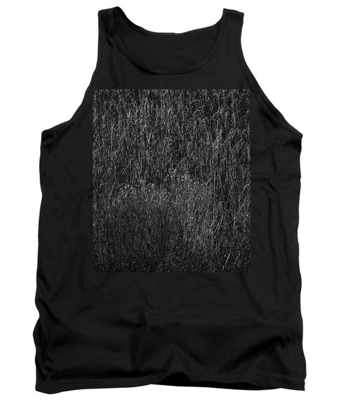 Grass Black And White Tank Top