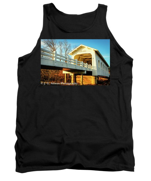 Grave Creek Covered Bridge Tank Top
