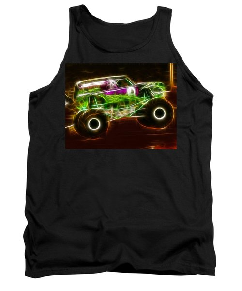 Grave Digger Monster Truck Tank Top