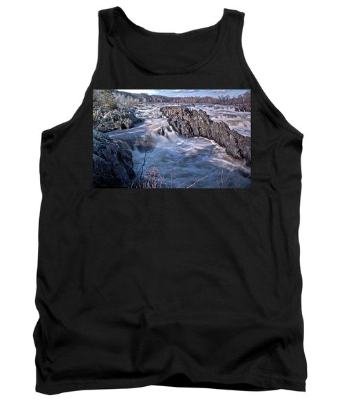 Tank Top featuring the photograph Great Falls Virginia by Suzanne Stout