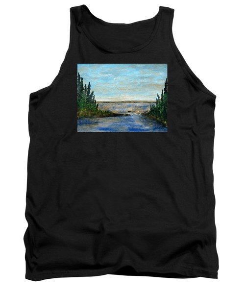 Great Lake Beyond Tank Top by R Kyllo