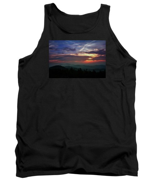 Tank Top featuring the photograph Great Smoky Sunsets by Jessica Brawley