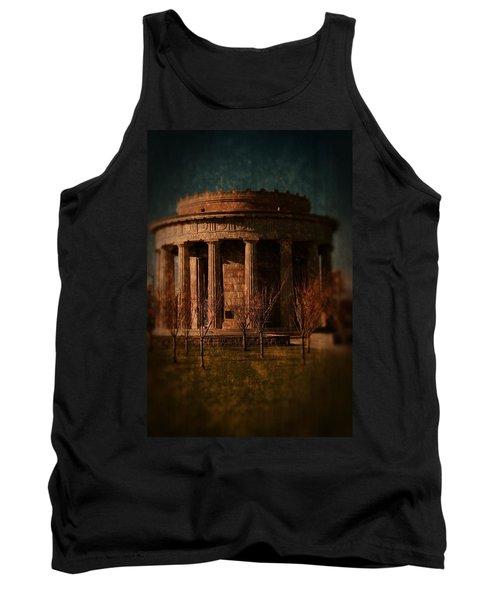 Greek Temple Monument War Memorial Tank Top