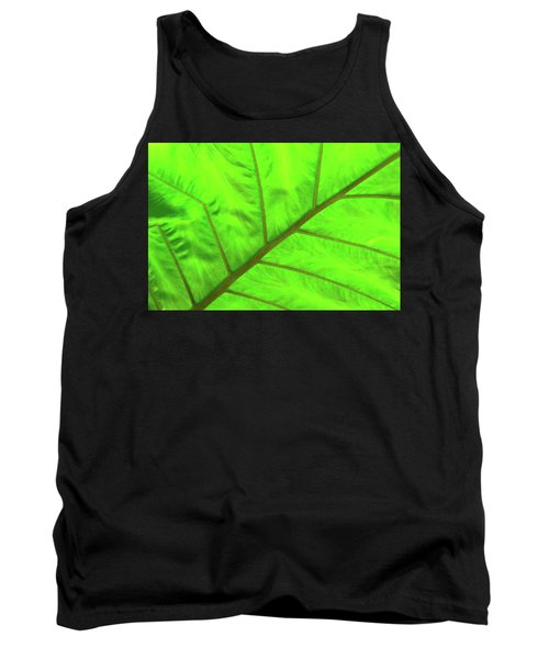 Green Abstract No. 5 Tank Top