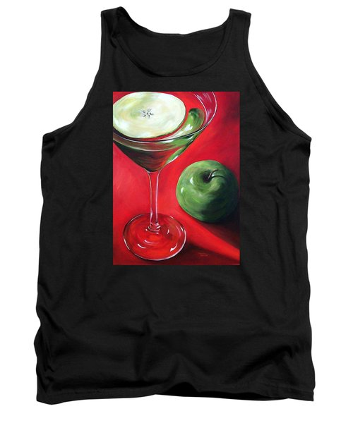 Green Apple Martini Tank Top
