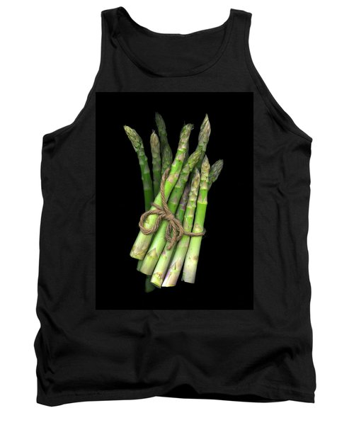 Green Asparagus Tank Top by Christian Slanec