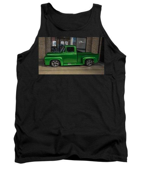 Green Car Tank Top