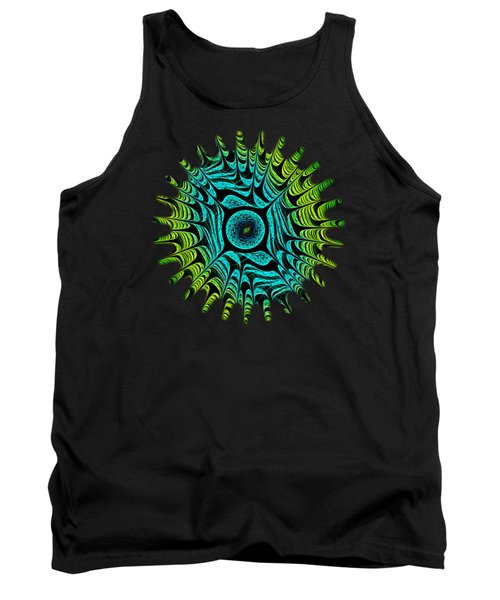 Green Dragon Eye Tank Top