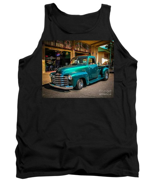 Green Dreams Tank Top by Perry Webster
