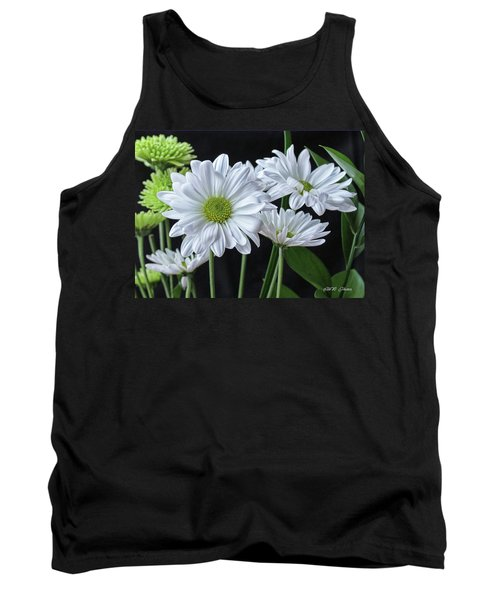 Tank Top featuring the photograph Green Eyed Daisy by Bonnie Willis