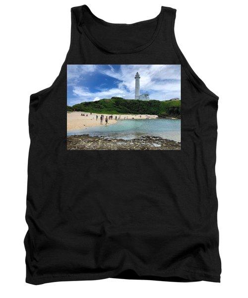 Green Island Beach Tank Top