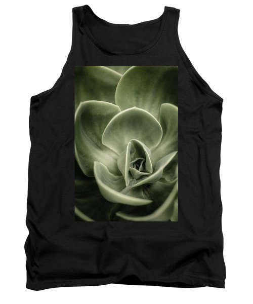 Tank Top featuring the photograph Green Leaves Abstract IIi by Marco Oliveira