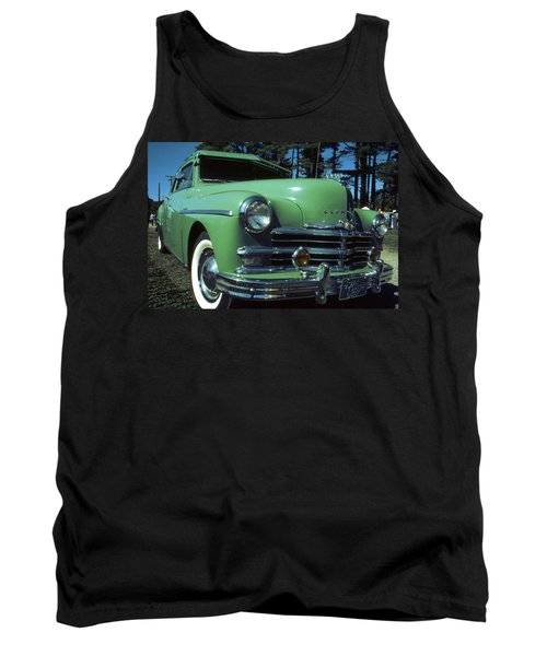 American Limousine 1957 - Historic Car Photo Tank Top