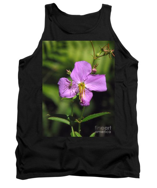 Green Lynx Spider On Meadow Beauty Tank Top
