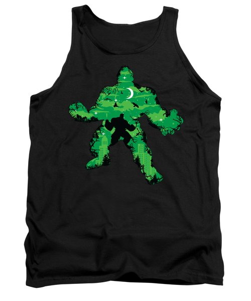 Green Monster Tank Top