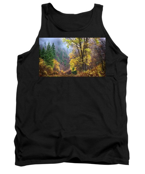 Green Mountain Fall Tank Top