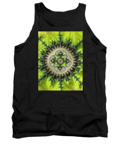 Tank Top featuring the photograph Green Star by Ronda Broatch
