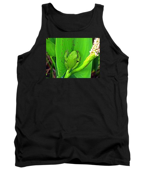 Green Tree Frog Tank Top