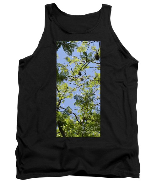 Greenery Left Panel Tank Top