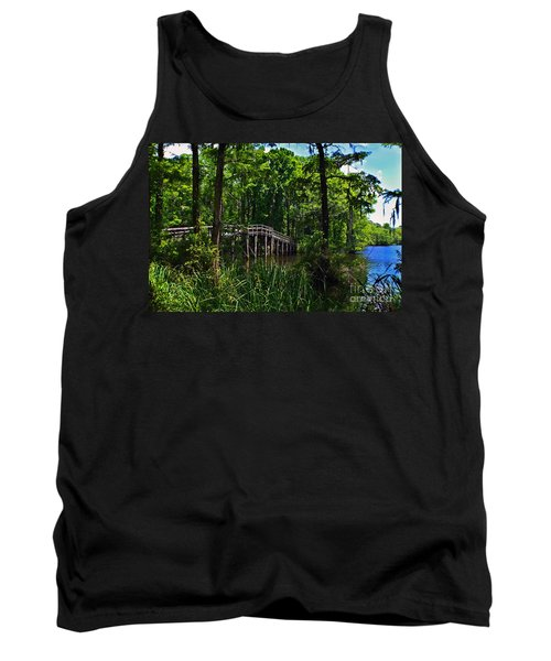 Greenfield Lake Bridge Tank Top