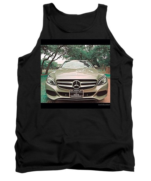 #grey #sky And A #silver Grey #car Tank Top