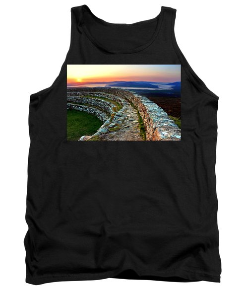 Grianan Fort Sunset Tank Top