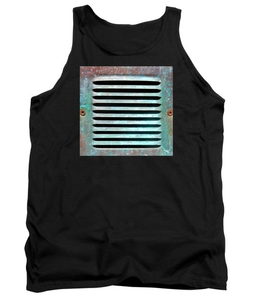 Verdigris Vent Tank Top by Dorothy Berry-Lound