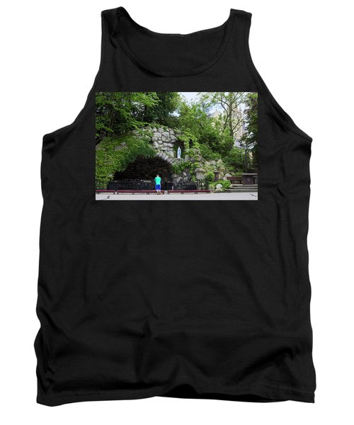 Grotto Of Our Lady Of Lourdes Tank Top
