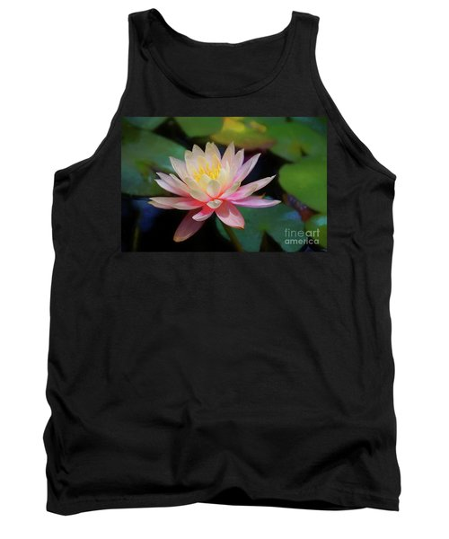 Grutas Water Lilly Tank Top by John Kolenberg