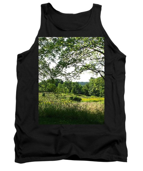 Beyound The Trees Tank Top