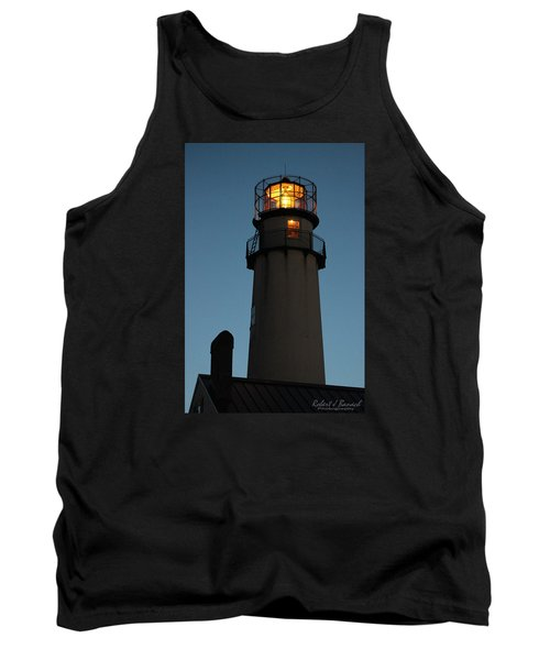 Tank Top featuring the photograph Guiding Mariners by Robert Banach