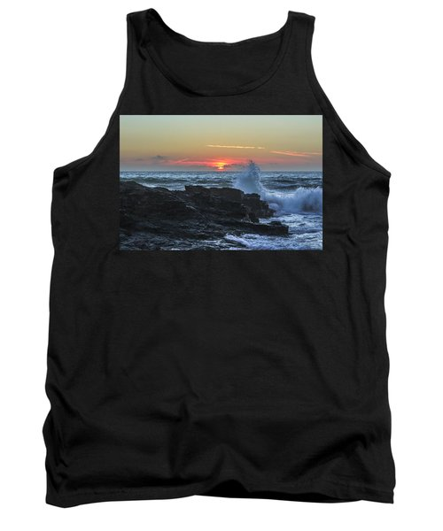 Gwithian Beach Sunset  Tank Top