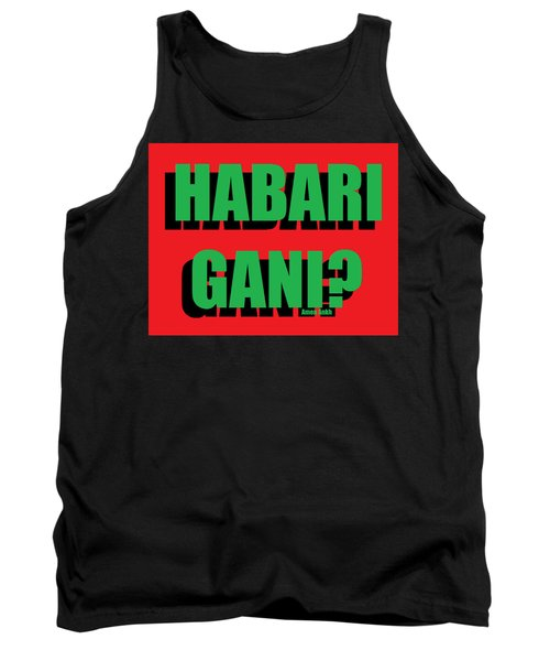 Habari Gani Tank Top