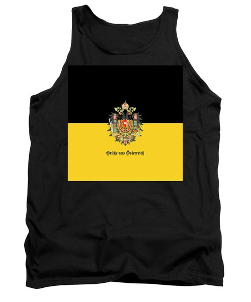 Habsburg Flag With Imperial Coat Of Arms 1 Greetings Tank Top