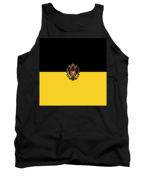 Habsburg Flag With Imperial Coat Of Arms 3 Tank Top