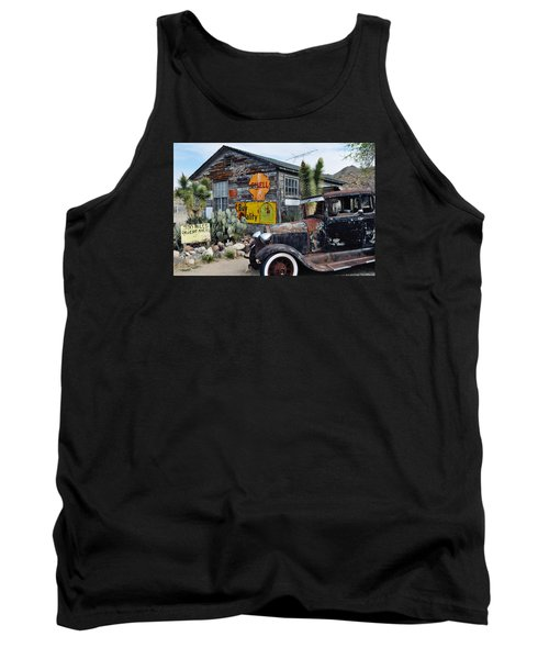 Hackberry Route 66 Auto Tank Top by Kyle Hanson
