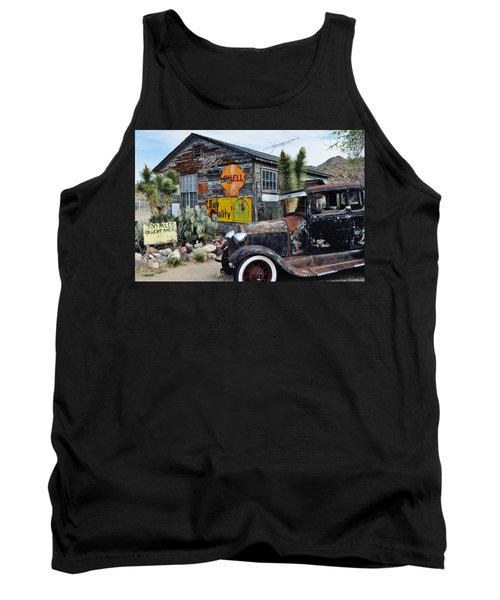 Tank Top featuring the photograph Hackberry Route 66 Auto by Kyle Hanson