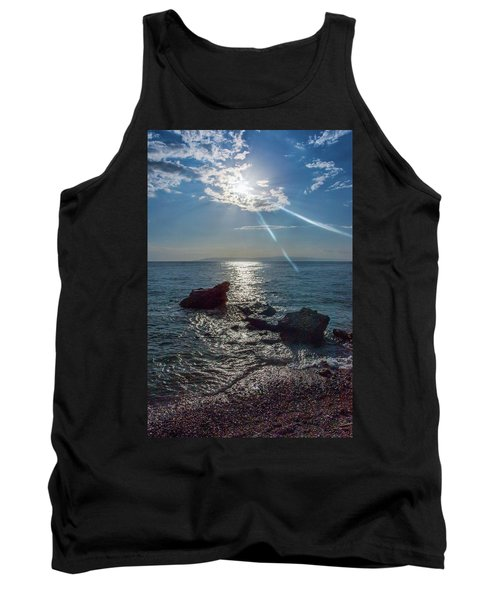 Haitian Beach In The Late Afternoon Tank Top