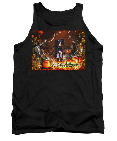 Halloween Girl Tank Top