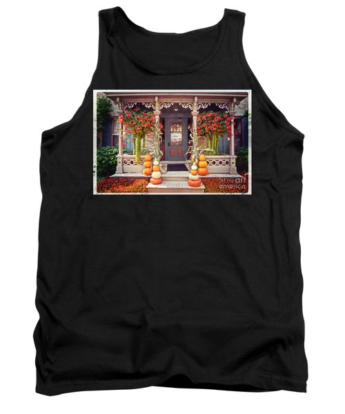 Halloween In A Small Town Tank Top by Mary Machare