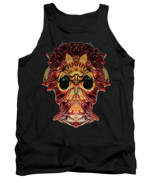 Halloween Mask 01214 Tank Top by Rafael Salazar