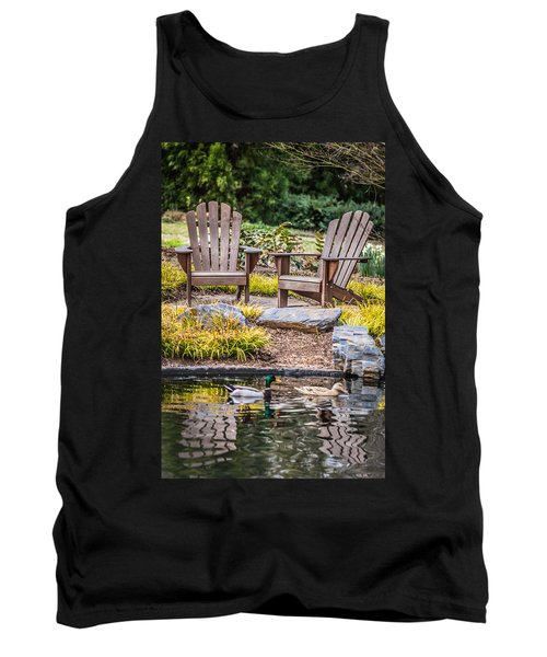Tank Top featuring the photograph Happiness Goes On by Wade Brooks