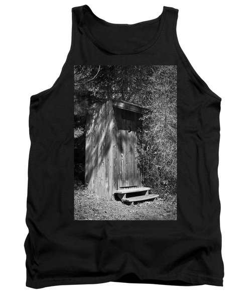 Happy Hollow Outhouse Tank Top