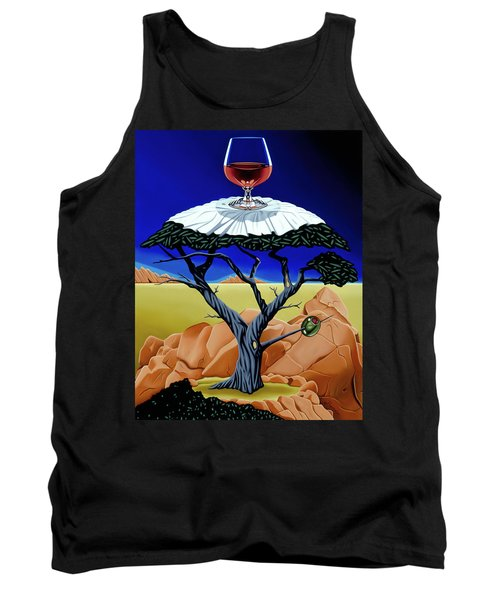 Happy Hour At The Midreal Cypress Tank Top