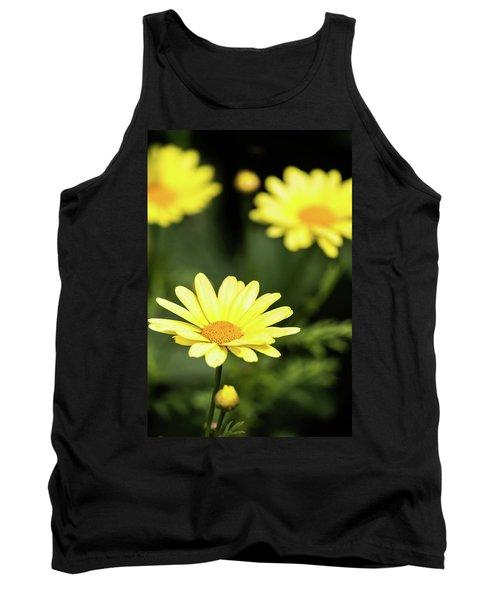 Happy Summer Flowers Tank Top