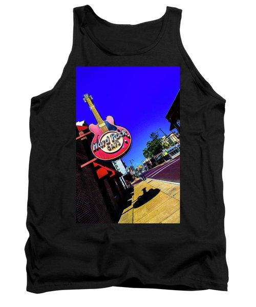 Hard Rockin On Beale Tank Top