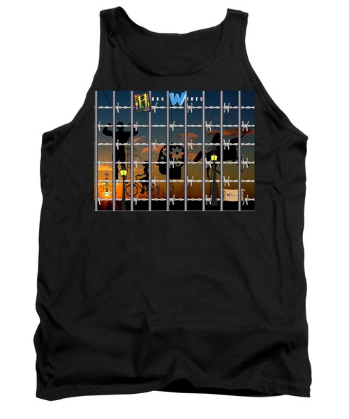 Hard-wired Tank Top