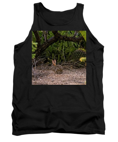 Tank Top featuring the photograph Hare Habitat H22 by Mark Myhaver