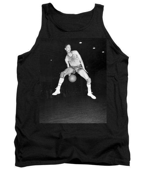 Harlem Clowns Basketball Tank Top by Underwood Archives