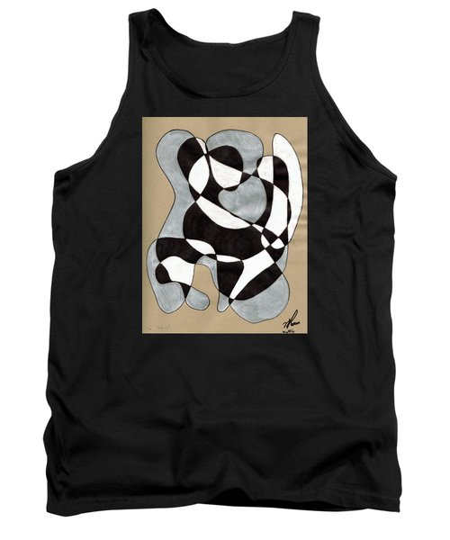 Harlequin Abtracted Tank Top